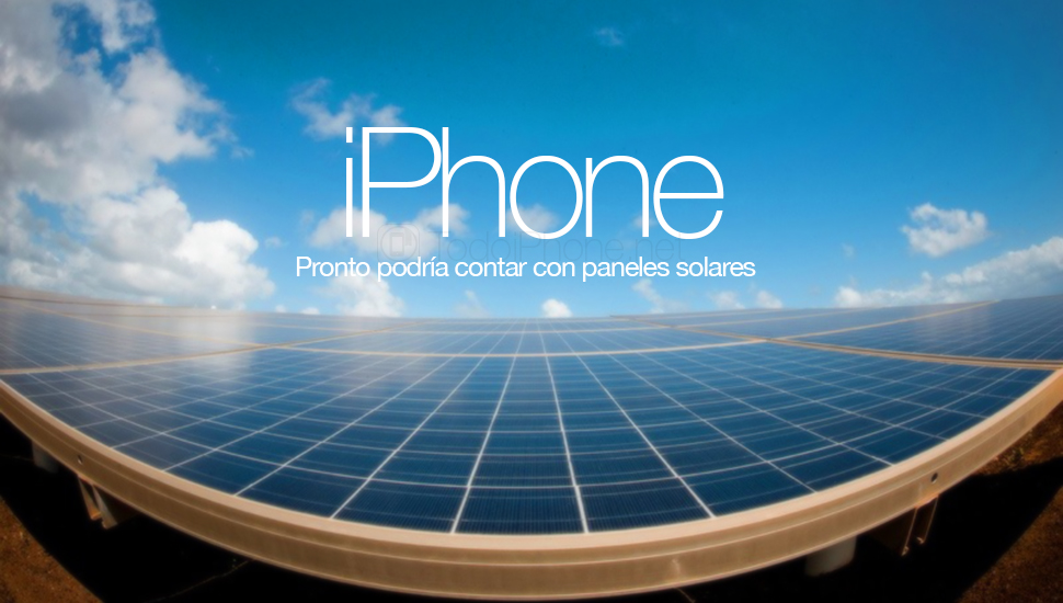 Apple You already have your patent to use solar energy on iPhone 1