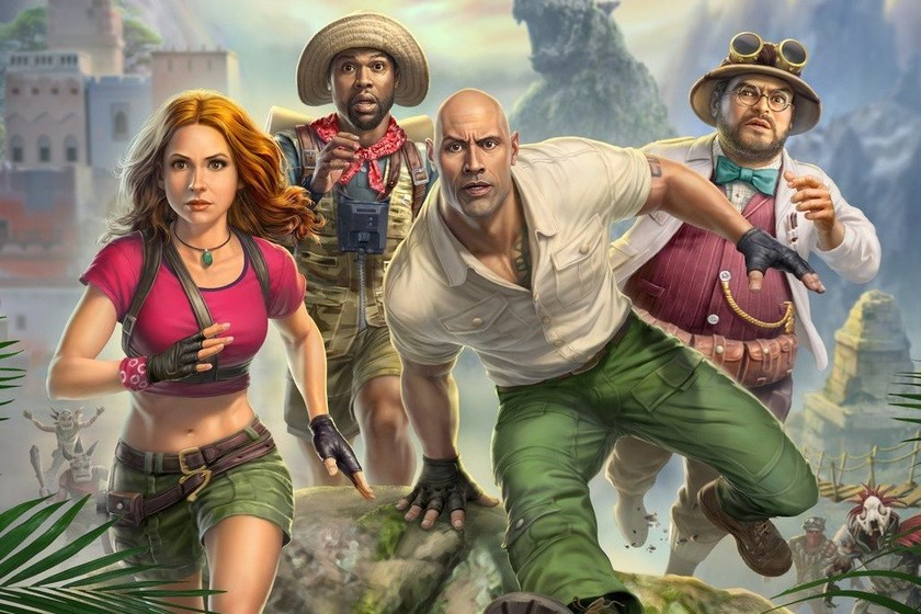 Jumanji's gameplay: The Video Game stars in its first gameplay and the feelings it leaves us are not very good