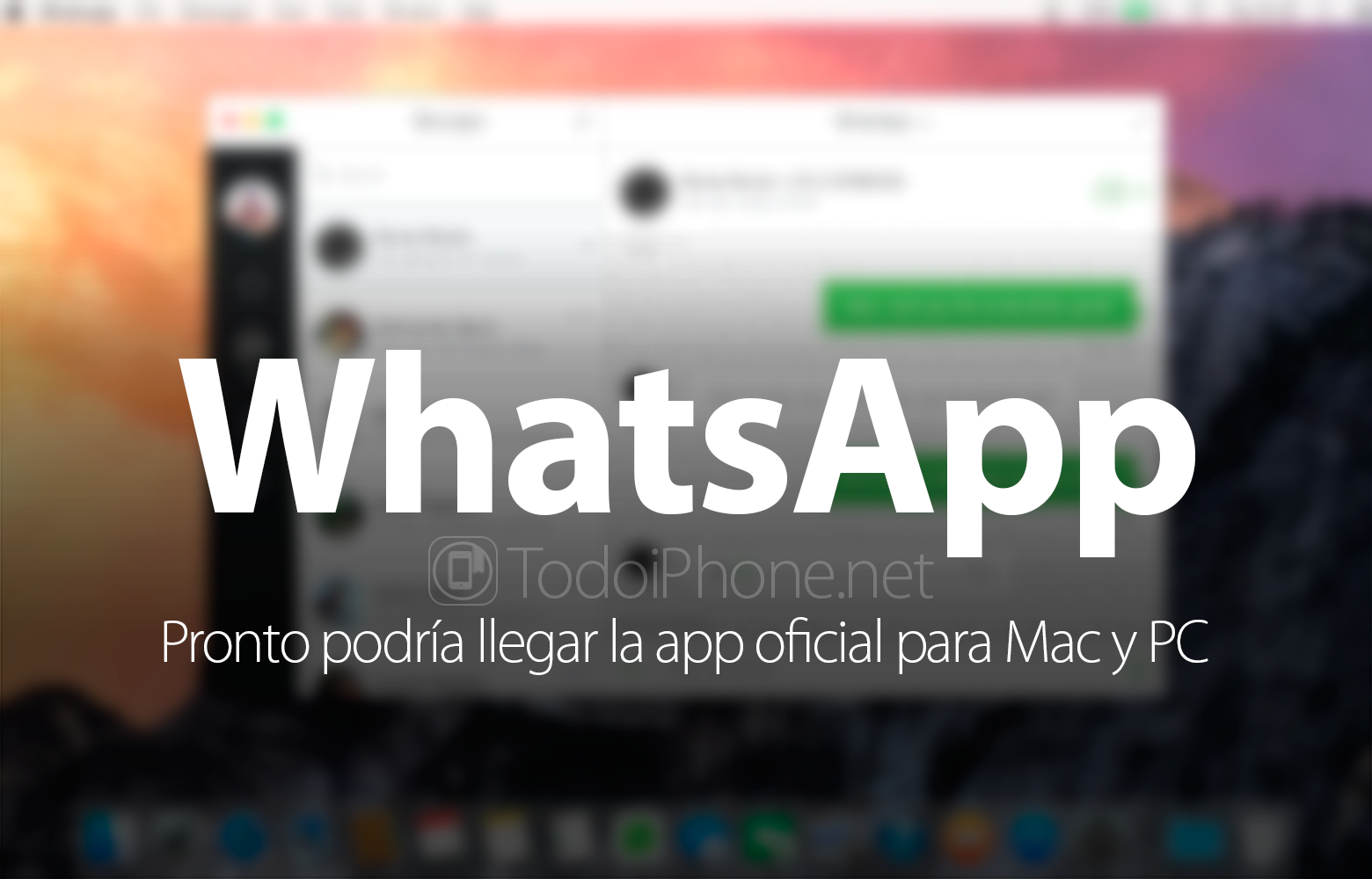 WhatsApp application for Mac and PC may arrive soon 1