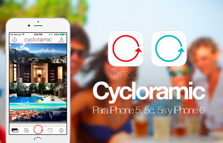Cycloramic, the iPhone app with which to take automatic 360º photos 1