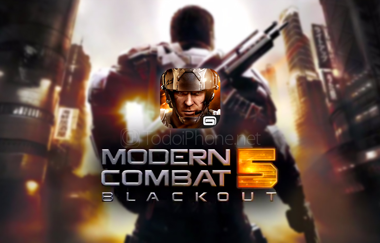 Modern Combat 5: Blackout, now FREE for iPhone and iPad 1