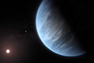 Exoplanet discovered where there is water vapor - and maybe even rain
