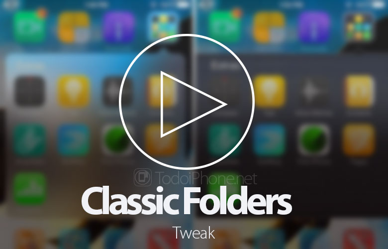 Classic Folders allows you to have iPhone 6-style iPhone folders 1