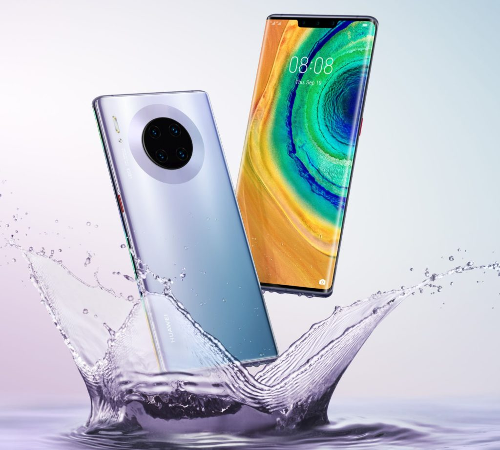These videos recorded with the super slow motion of the Huawei Mate 30 are impressive