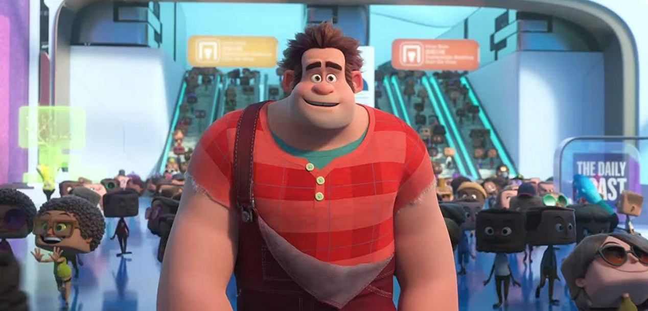 'Filtered' the movie Rom Ralph Breaks the Internet 'a scene from' Avengers: Endgame 'months before its release?