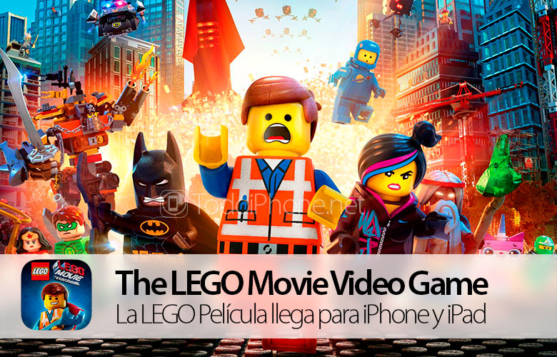 The LEGO Movie, the official game for iPhone and iPad arrives 1