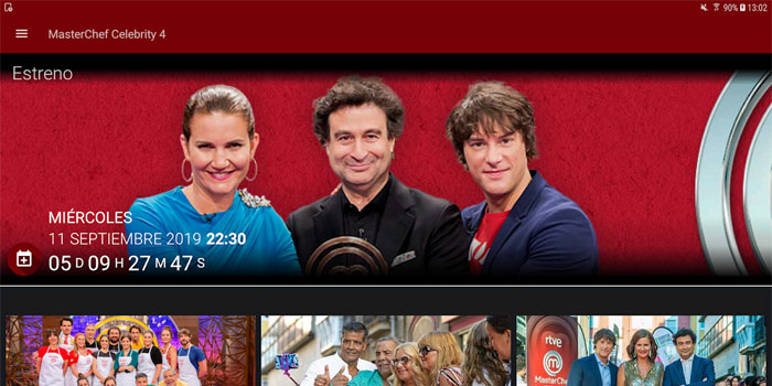 Download the Masterchef Celebrity 4 app here and check the program's recipes