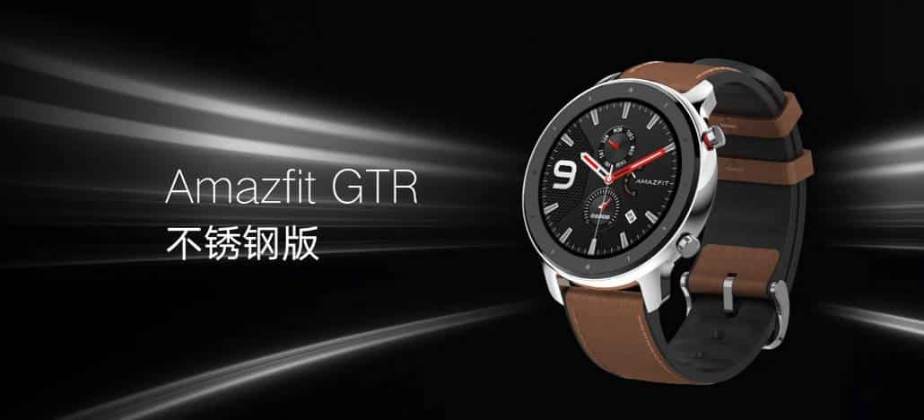 Huami Amazfit GTS and Stratos 3 Perform a global launch at IFA