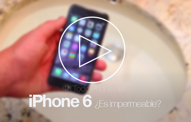 iPhone 6 Is it waterproof? A video test shows us 1