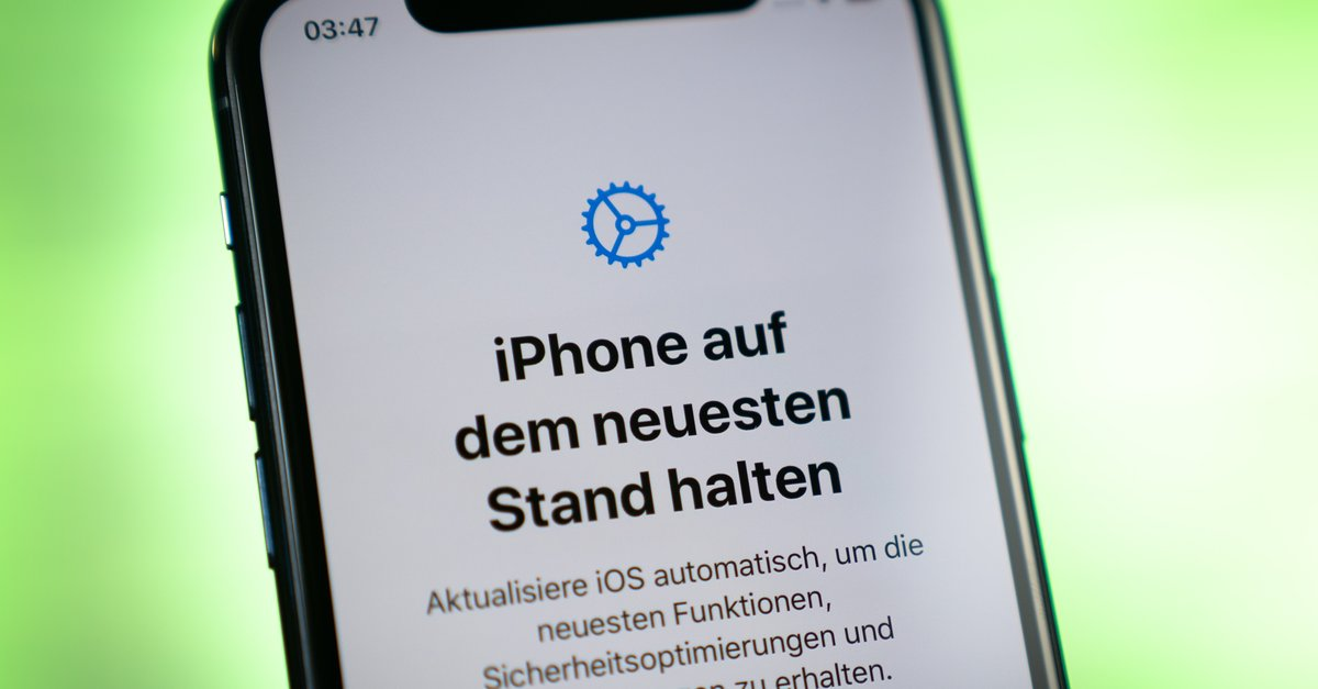 This iPhone will receive an update 1