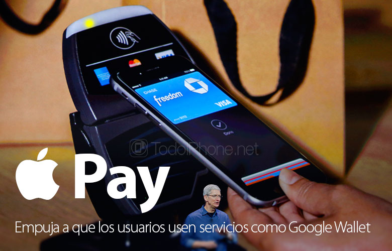 The arrival of Apple Pay pushes users to use other services like Google Wallet 1