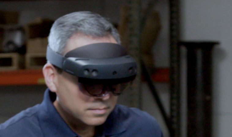 These would be the first leaked images of the new HoloLens # MWC19 1