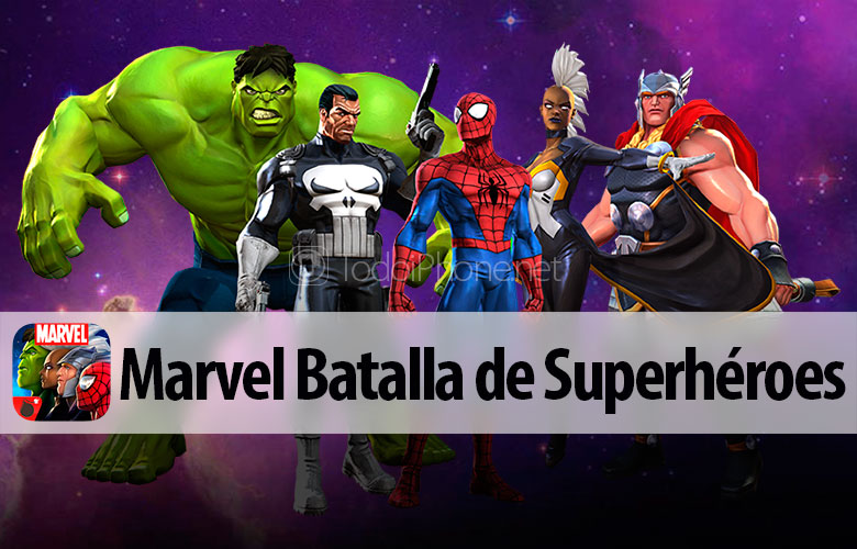 Marvel Battle of Superheroes available for FREE for iPhone and iPad 1