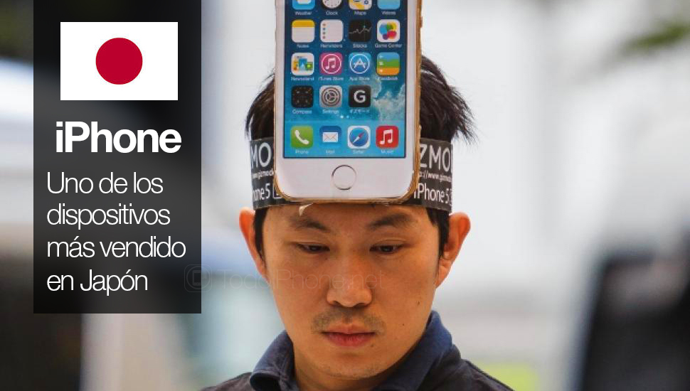 One in three phones sold in Japan is an iPhone 1
