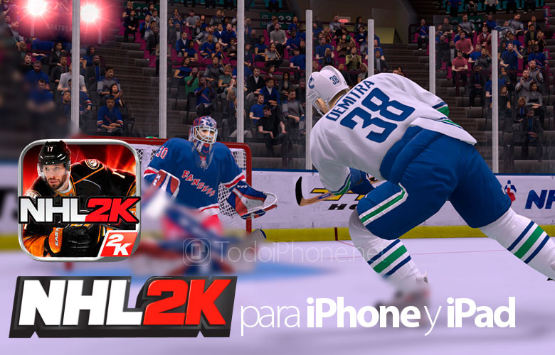 NHL 2K, the ice hockey game comes to the iPhone and iPad 1
