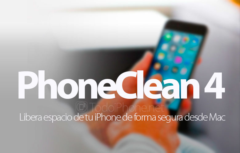 PhoneClean 4, free up space on your iPhone safely from Mac and Windows 1