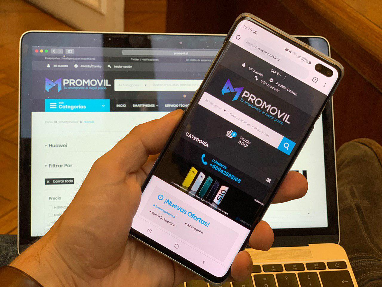 Promovil renews its image and its online store