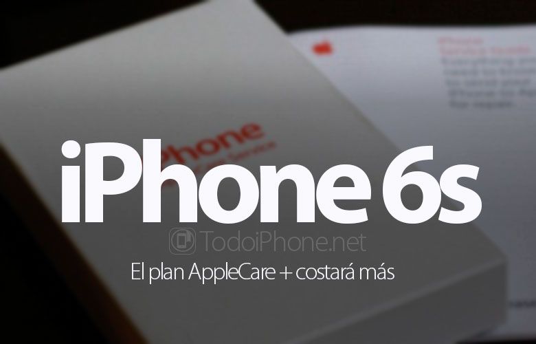 AppleCare + prices increase for iPhone 6s 1