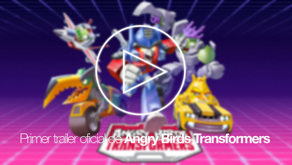 Rovio publishes the first official trailer of Angry Birds Transformers 1