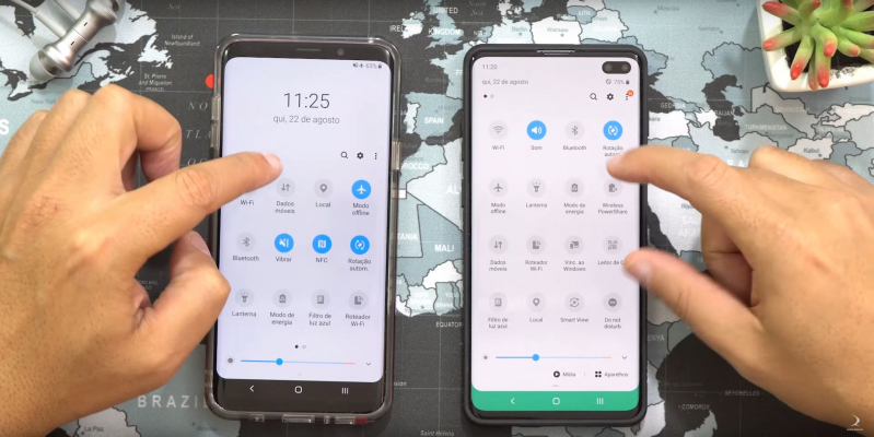 Samsung: Video shows Android 10 and One UI 2.0 on the Galaxy S10 +
