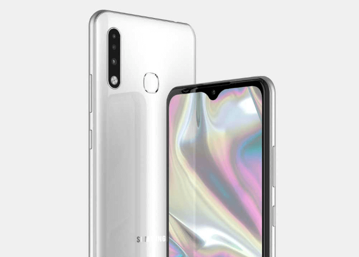 Samsung leaked design Galaxy A70e in high quality rendering
