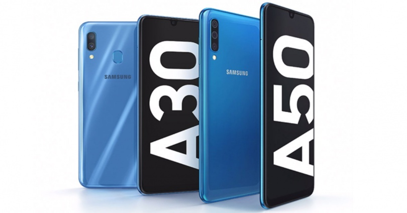 Galaxy  A30 and A50