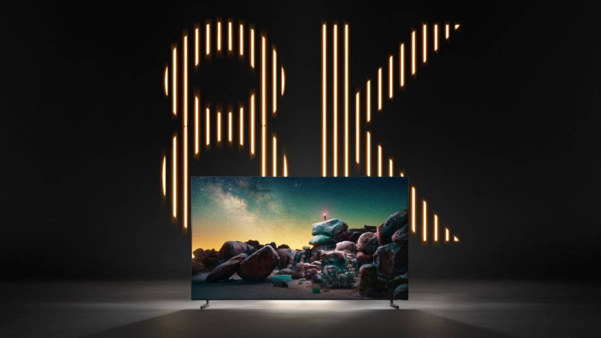 The first global certificate for 8K TV is born 1