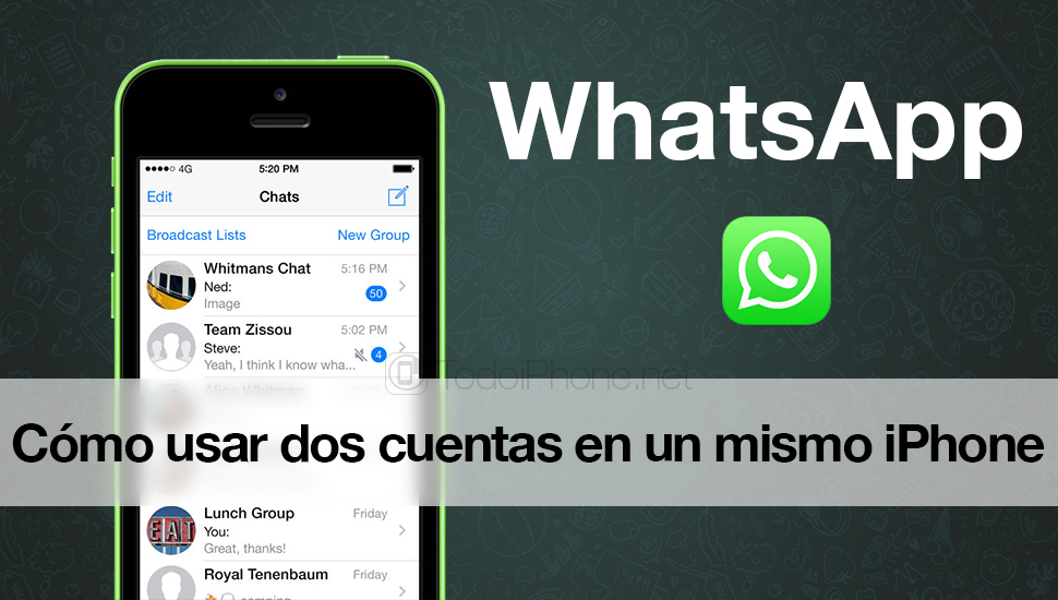 How to use two WhatsApp accounts on the same iPhone 1