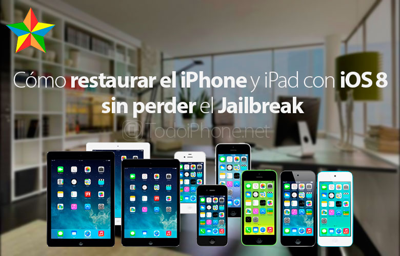How to restore iPhone with iOS 8.0.x - 8.1 without losing the Jailbreak 1
