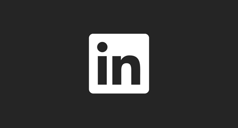 This will be the dark mode of the LinkedIn job application