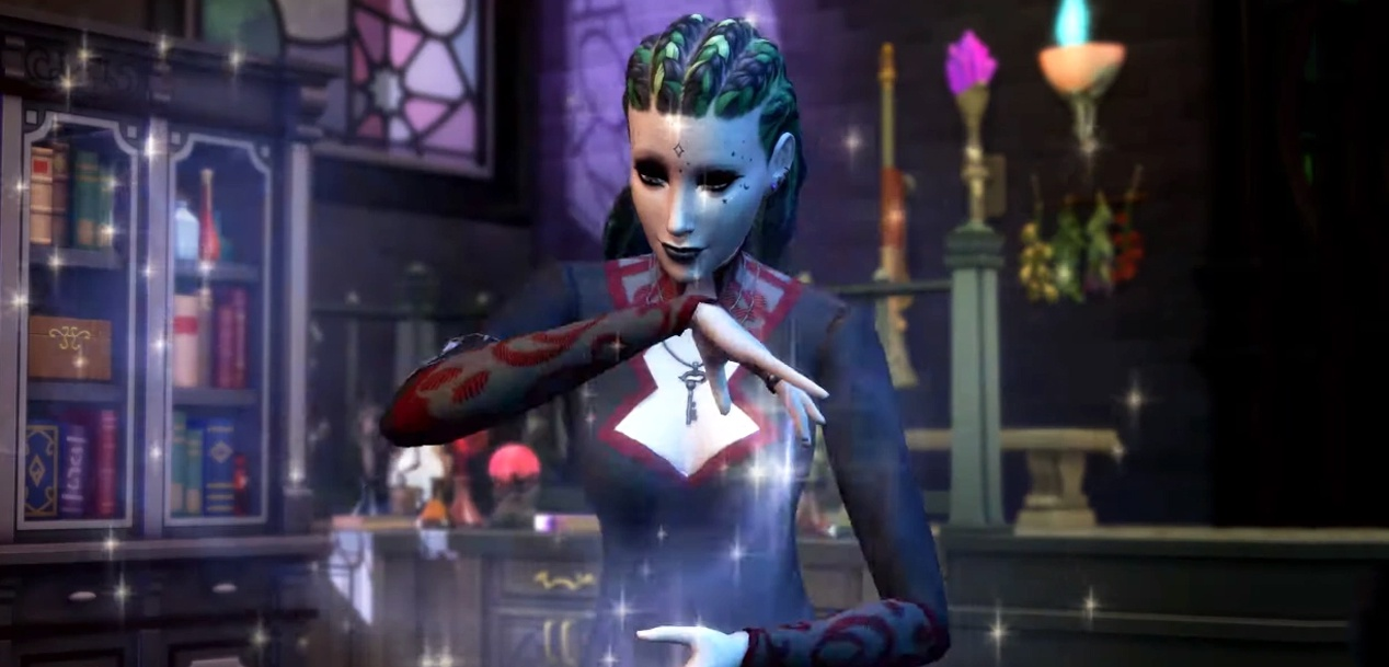 The Sims 4 welcome the world of magic with its new expansion