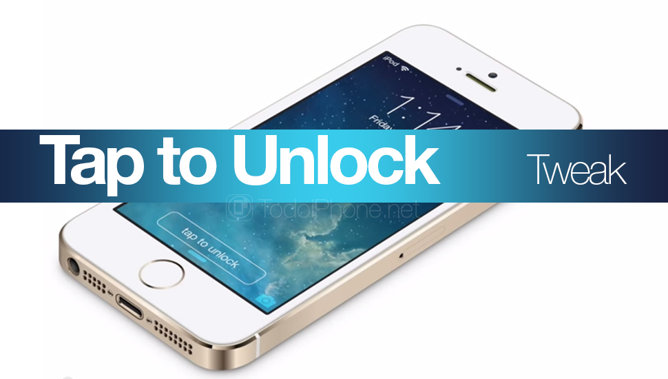 Touchez to Unlock: the tweak that changes the «Swipe to unlock» by one touch 1