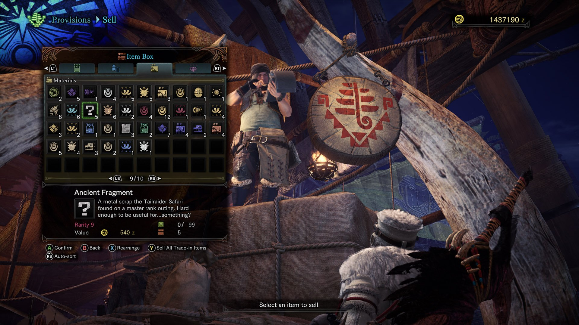 What are the ancient shards for in Monster Hunter World? 1