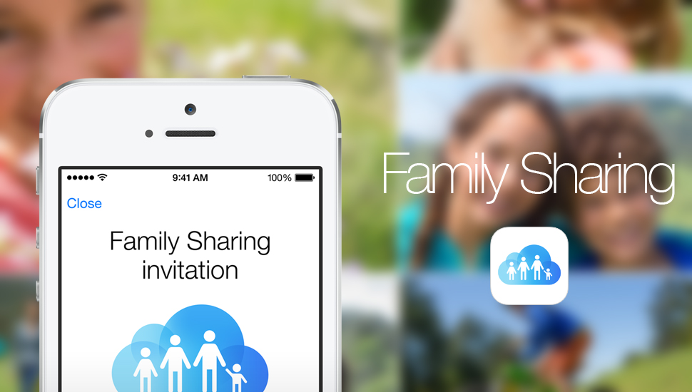 Familiy Sharing, a new feature of iOS 8 for content sharing 1