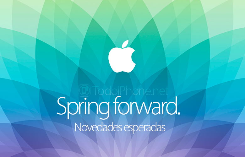News that we could see in the Spring forward event of Apple 1