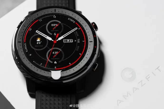 There are already hands-on games from Amazfit Sports Watch 3 and Amazfit X!