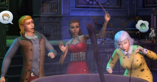 You can become a sorcerer in the new expansion of The Sims 4